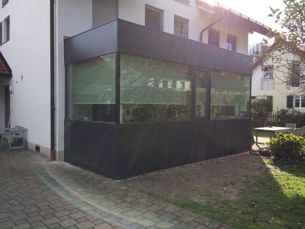 Fassadenverkleidung aus Aluminiumbleche